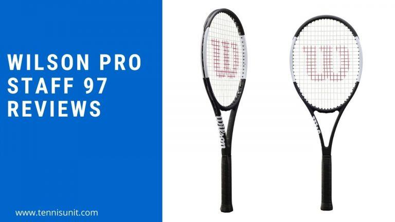 Wilson pro staff tennis racquet reviews